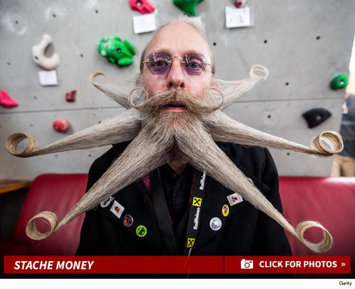 30 Wild Looks at the World Beard and Mustache Championships 2015