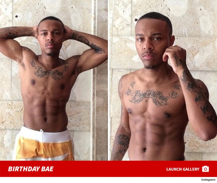 29 Shirtless Shots of Bow Wow