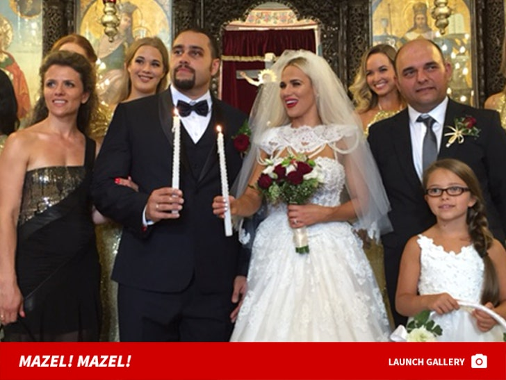 Cj perry and Rusev WEDDING