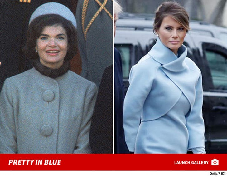 First Ladies -- Pretty in Blue