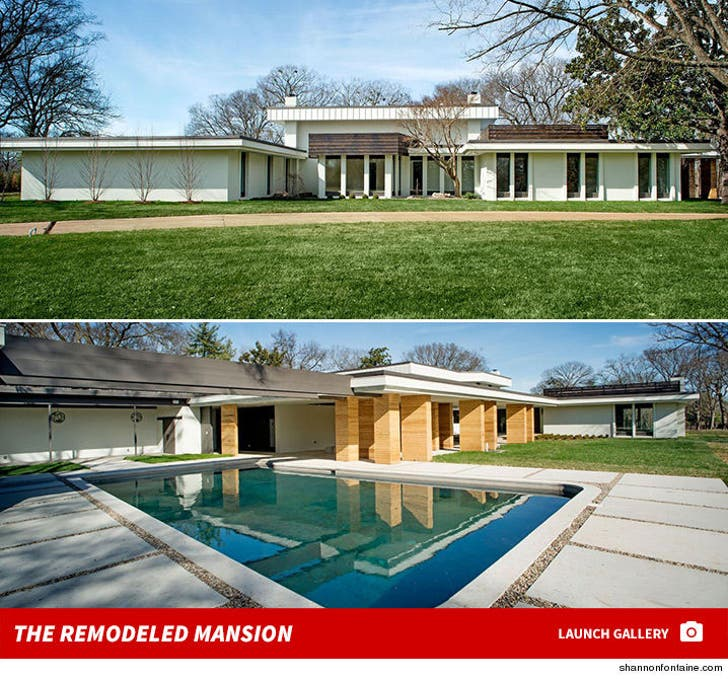 Scott Underwood's Remodeled Mansion