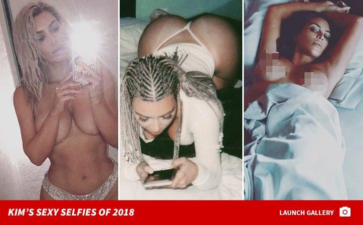 Kim Kardashian's Sexy Selfies