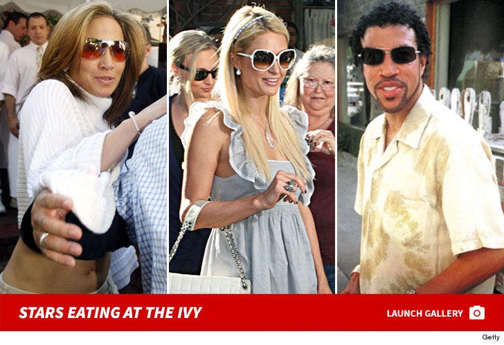 Stars Eating At The Ivy