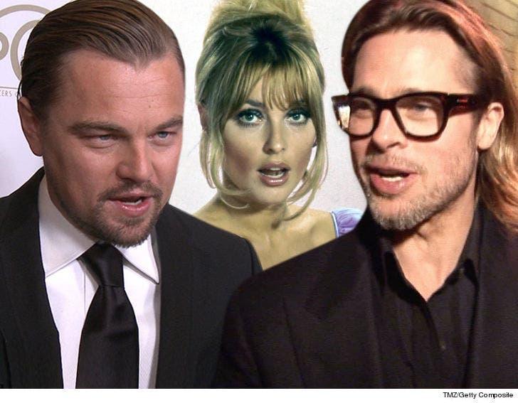Leonardo DiCaprio & Brad Pitt Taking Heat for Manson Murder