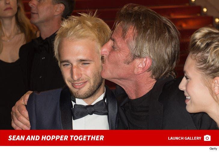 Sean and Hopper Penn -- The Father/Son Photos