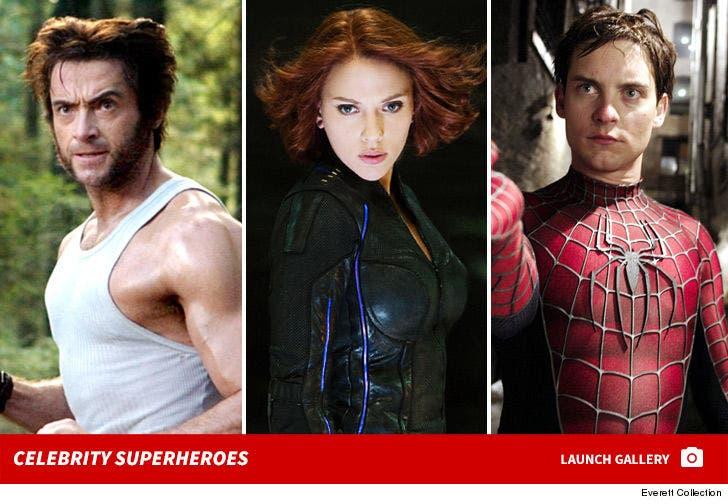 Celebrity Superheroes