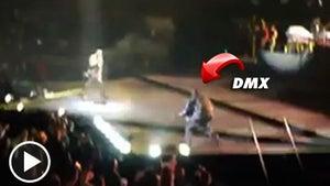 DMX -- Crashes Alicia Keys Concert ... UP IN HERE!!