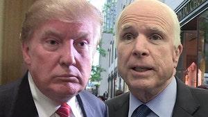 President Trump Doesn't Regret His Handling of John McCain's Death