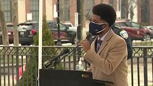 Baltimore Mayor Brandon Scott Tells Heckler 'Shorty Pull Your Mask Up'