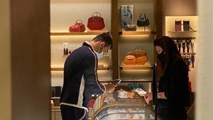 Britney Spears' Boyfriend Sam Asghari Shopping For Rings at Cartier