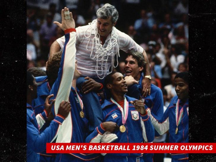 USA Men's Basketball 1984 Summer Olympics