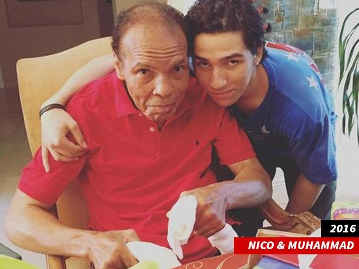 nico ali walsh and muhammad ali