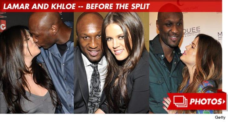 Lamar Odom and Khloe Kardashian Photos