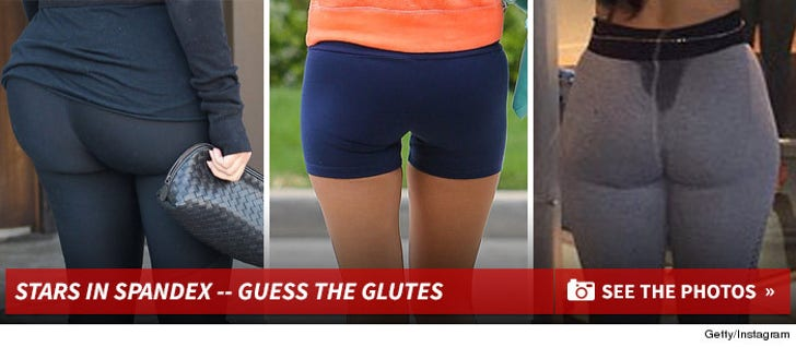 Stars in Spandex -- Guess The Glutes!