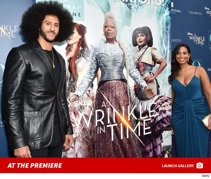 Colin Kaepernick At 'A Wrinkle In Time' Premiere