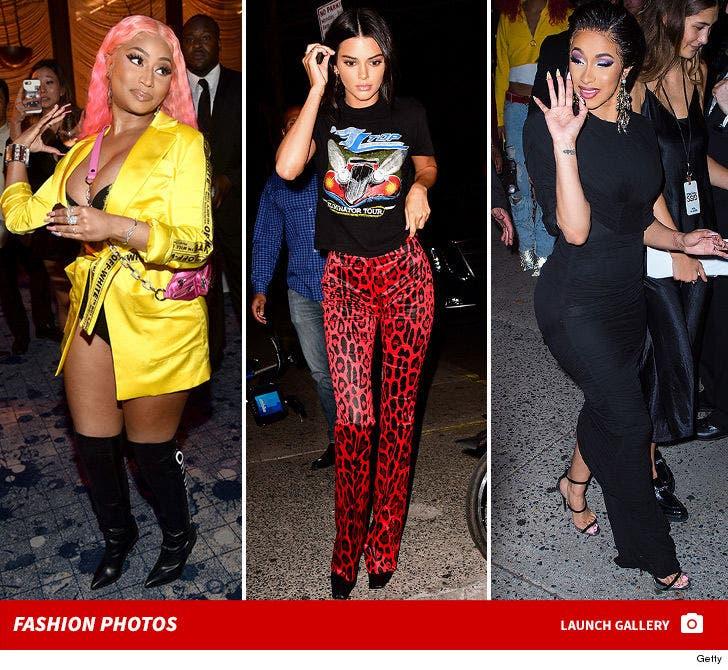 Stars at NYFW 2018