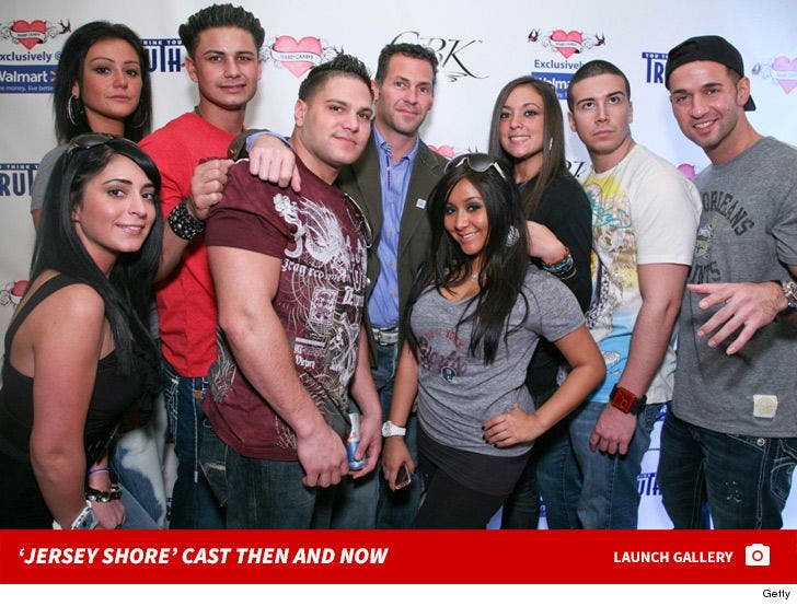 'Jersey Shore' Cast -- Then And Now