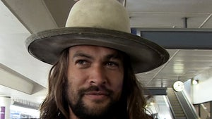 Jason Momoa Says Screw 'Dad Bod' Haters for 40th Bday Party