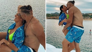 George Kittle Getting Over Super Bowl Loss With Thonged-Out Wife In Mexico