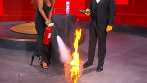 Jennifer Aniston, Jimmy Kimmel's Emmys Fire Gag Perfect 2020 Metaphor