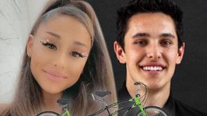 Ariana Grande's Wedding Gift from PETA is a Vegan Tandem Bike