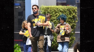 Ben Affleck Seen Having His Kids Hang Out with One of Jennifer Lopez's