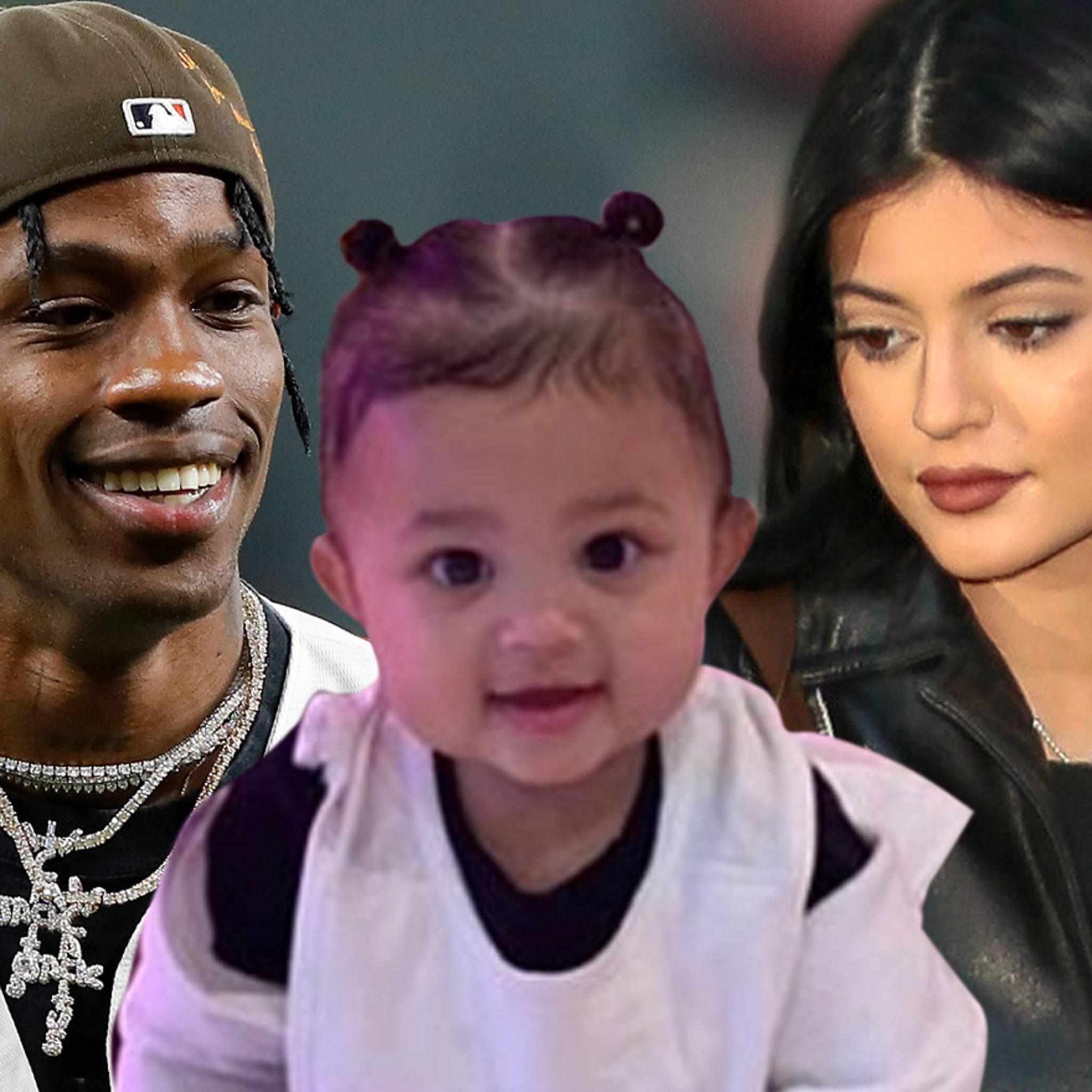 Kylie Jenner & Travis Scott Take Stormi to Pumpkin Patch, Still Split