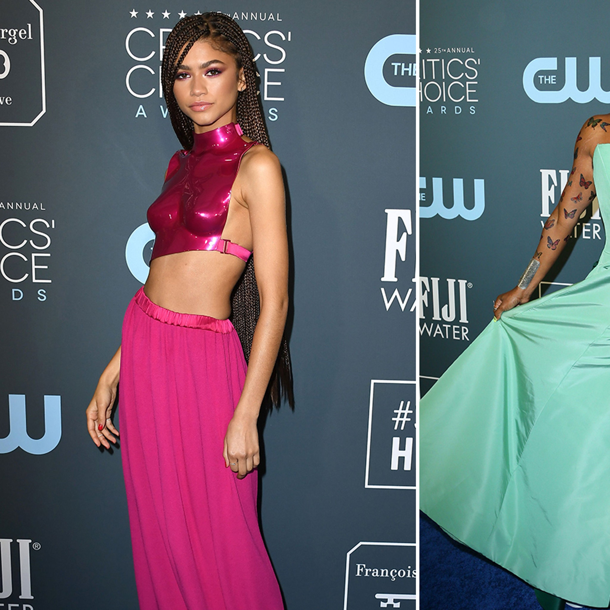 Celebs Came Dressed to Impress for the Critics' Choice Awards