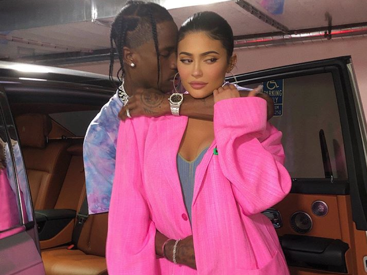 Kylie Jenner and Travis Scott Together