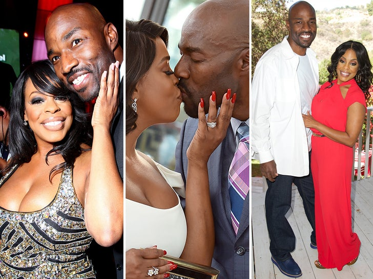 Jay Tucker and Niecy Nash -- Happier Times