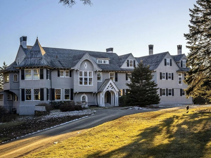John Travolta Lists Maine Mansion for $5 Million