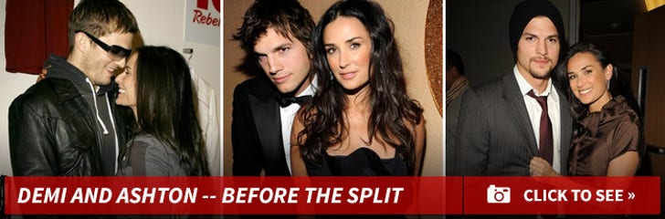 Demi Moore and Ashton Kutcher -- Before the Split