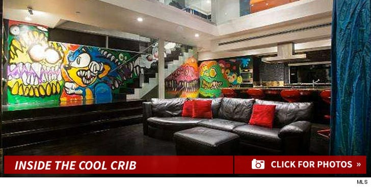 Inside Chris Brown's Hollywood Home