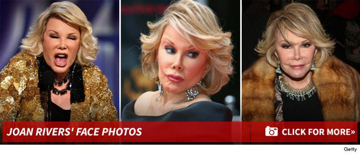 Stare at Joan Rivers!