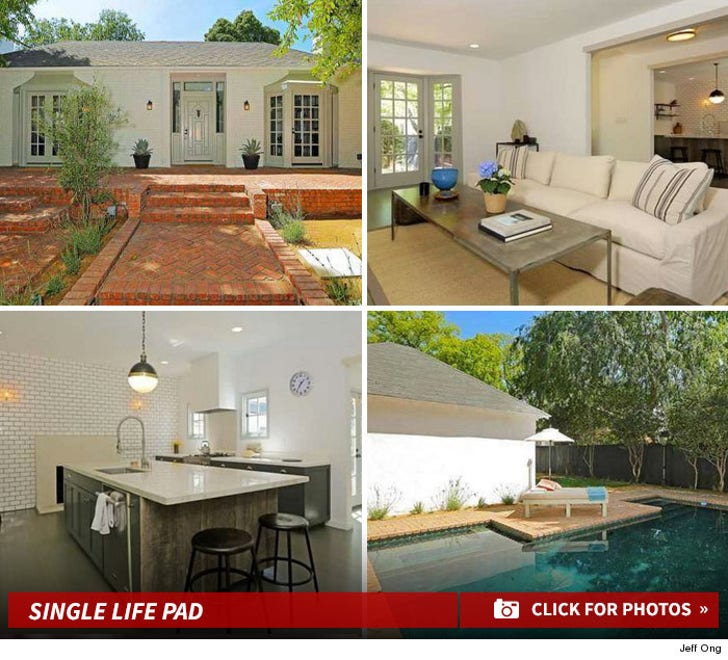 Katharine McPhee -- Livin' Single Home Photos