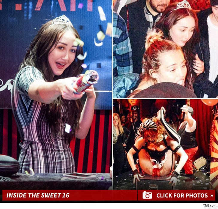 Noah Cyrus' Sweet 16 -- The Bday Madhouse