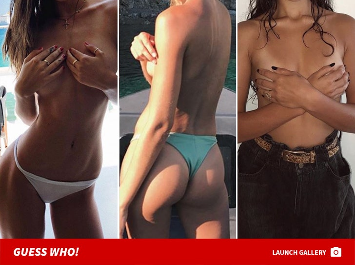 NSFW Topless Babes -- Guess Who!
