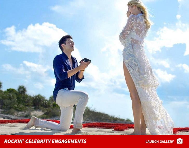 Rockin' Celebrity Engagements