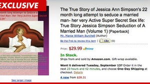 Jessica Simpson -- Fan She's Never Met Writes a Book About Her