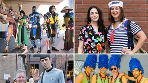 San Diego Comic-Con Attendees Go All Out With Cosplay