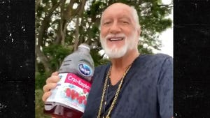 Mick Fleetwood Joins 'Dreams' Challenge, Rolling with Cranberry Juice