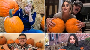 Celebrity Pumpkin Picks -- Gourd Lookin'!