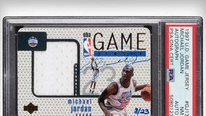 Michael Jordan Rare Signed Basketball Card Sells For $1.4 Million, Shatters Record