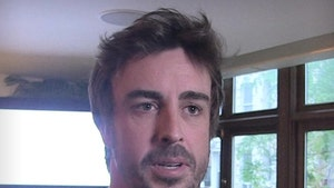 F1 Champ Fernando Alonso Returns to Racing 3 Weeks After Breaking Jaw in Cycling Crash