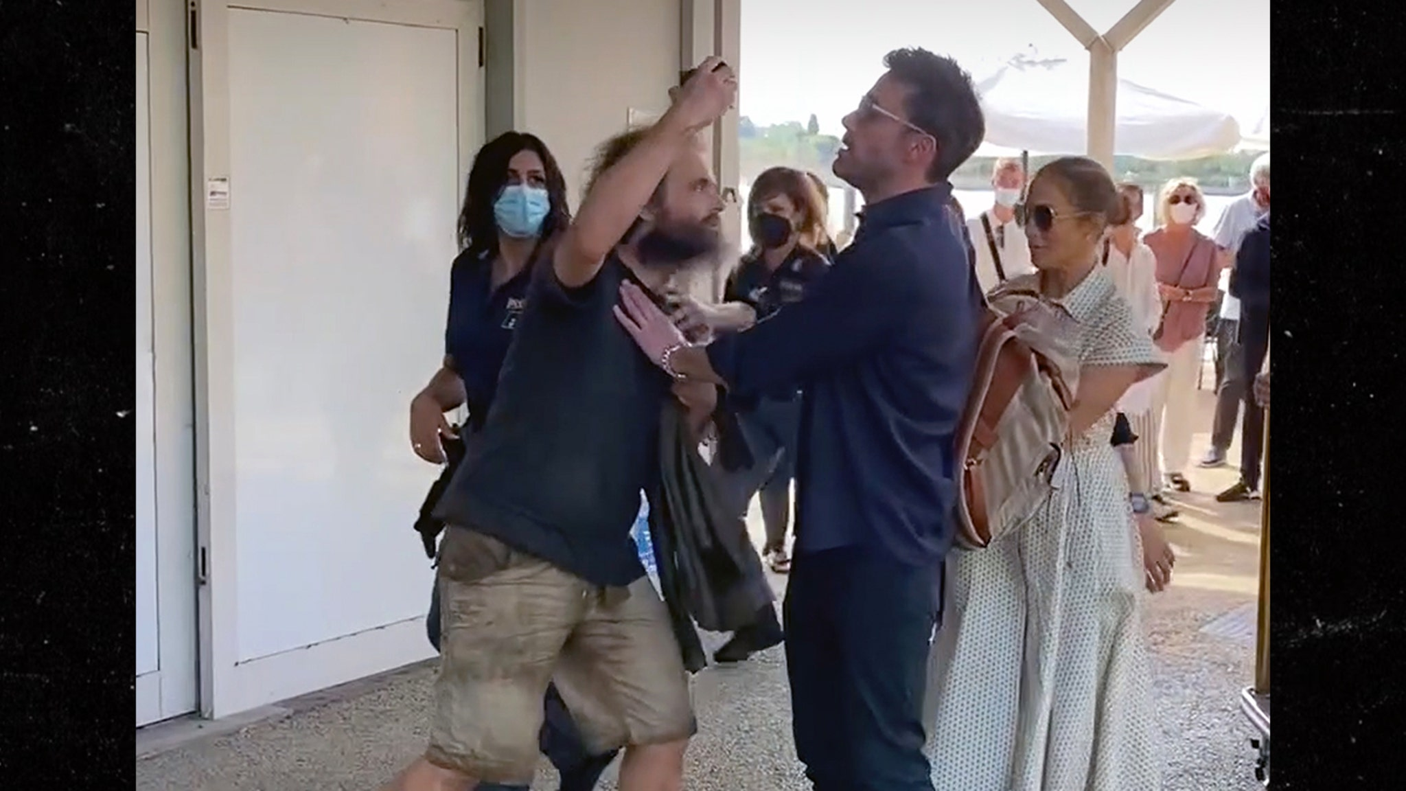 Ben Affleck Confronts Pushy Fan to Protect J Lo in Venice thumbnail