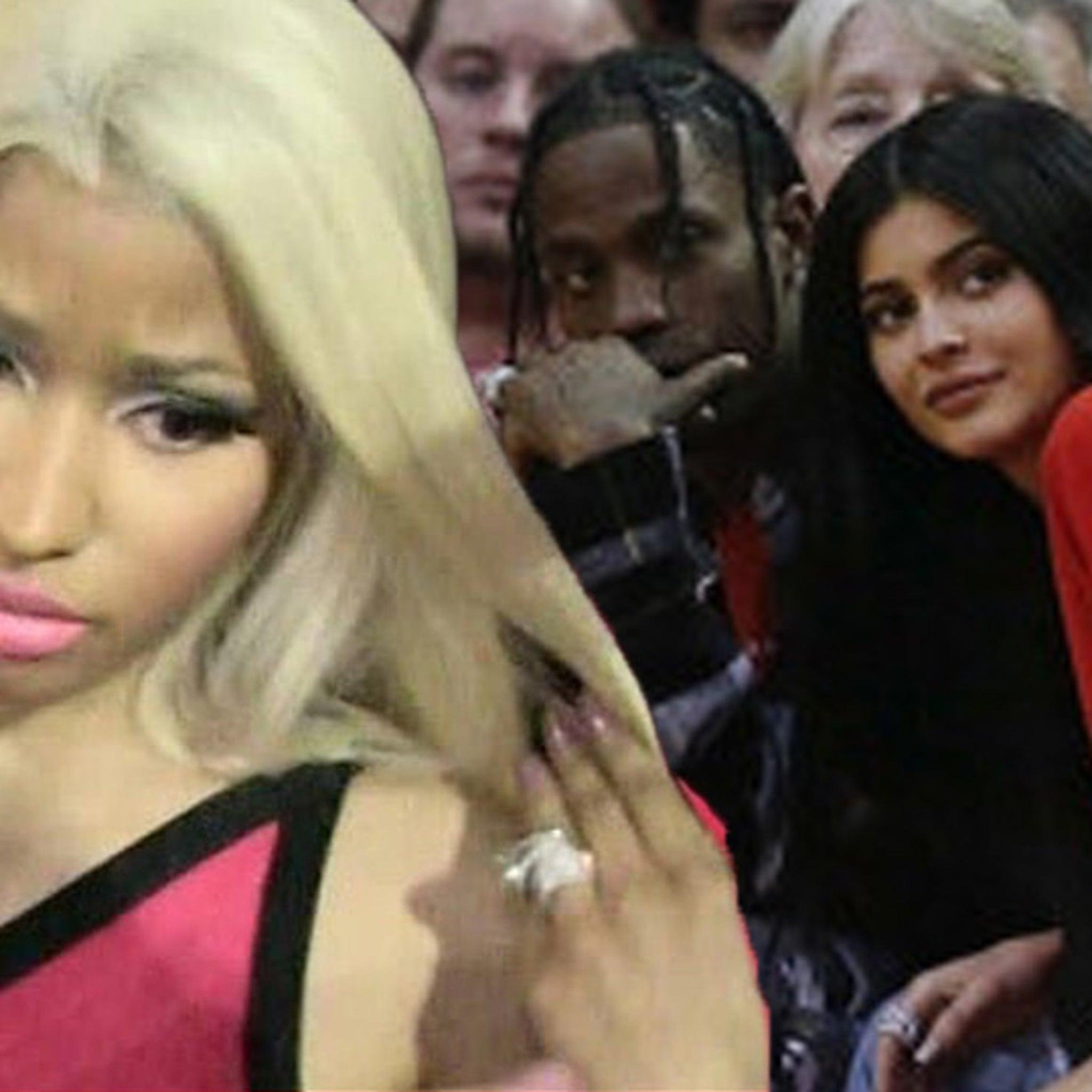 830c2219acd0 Nicki Minaj Slams Kylie Jenner & Stormi for Fueling Travis Scott's Album to  #1