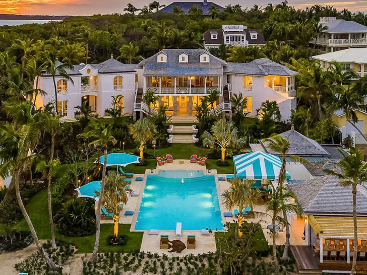 Kylie Jenner's Bahamas Vacation Mansion