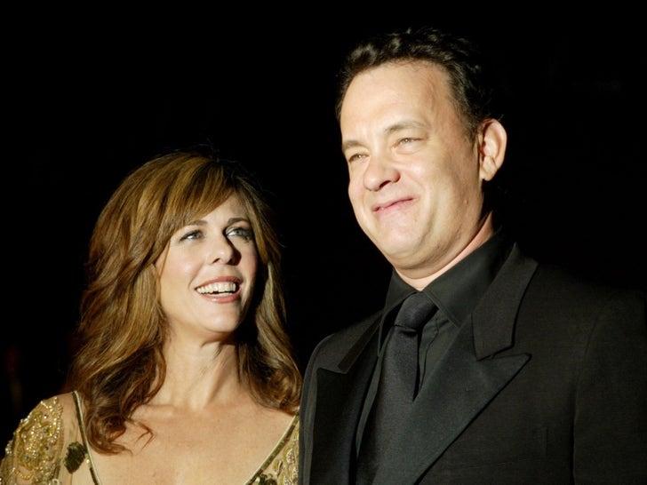 Tom Hanks and Rita Wilson -- Get Well Soon