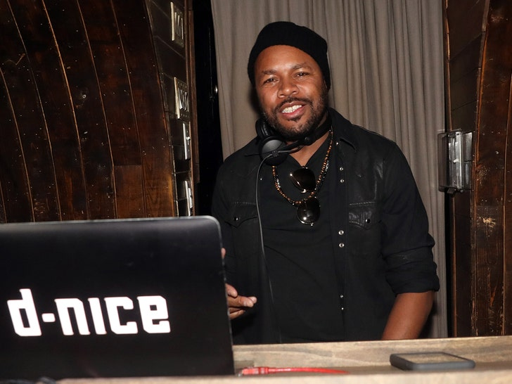 DJ D-Nice Hosts Another Virtual Dance Party, Celebs Tune In - EpicNews