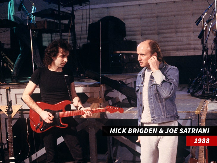 joe satriani Mick Brigden